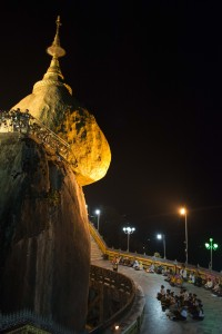 The Golden Rock, Burma/Myanmar
