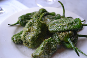 Padron Peppers Tapas, food at Jose's, London